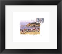 Tuscany Beach Framed Print