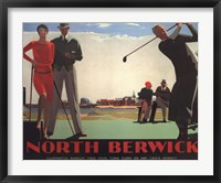 Framed North Berwick (Golf)