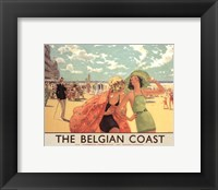 Framed Belgian Coast