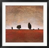 Framed Sienna Plains
