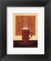 Framed Cafe Chocolat