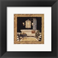 Maison Bath II Framed Print