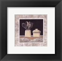 Morning News IV Framed Print