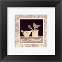 Morning News III Framed Print