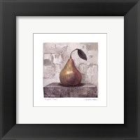 Perfect Pear Framed Print