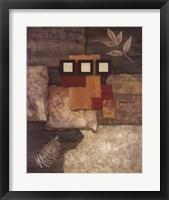 Designer Foliage I Framed Print