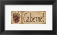 Cabernet Framed Print
