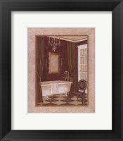 Framed Luxury Bath II