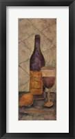 Wine Tasting Tuscanny II Framed Print