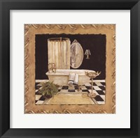 Maison Bath I Framed Print