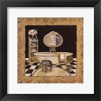 Maison Bath III Framed Print