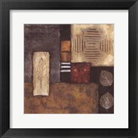Autumn Abstract II Framed Print