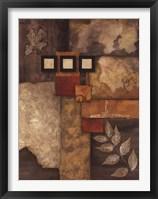 Designer Foliage II Framed Print
