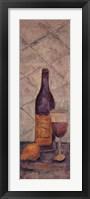 Framed Wine Tasting Tuscanny II