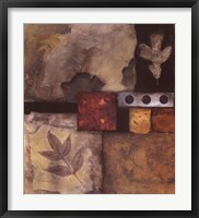 Autumn Abstract I Framed Print