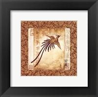 Framed Heron I