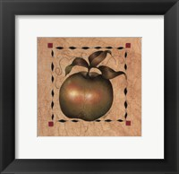 Framed Stenciled Apple I