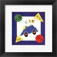 Racing Car Framed Print