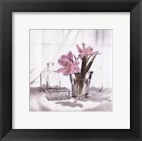 Vanity Floral II Framed Print