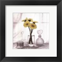 Framed Vanity Floral IV