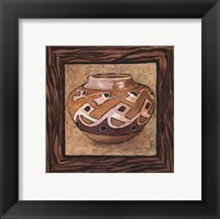 Framed Tribal Vessel I