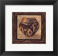 Framed Tribal Vessel III