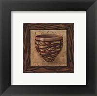 Framed Tribal Vessel IV