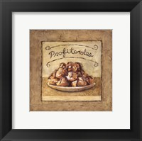 Profiteroles Framed Print