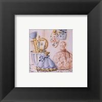 Framed Perfume Trio IV