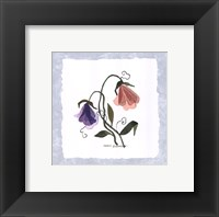 Framed Pressed Petals I