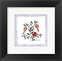 Pressed Petals II Framed Print