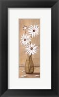 Framed White Daisies