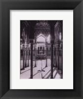 Framed Granada-El Patio de los Leones Enila Alh