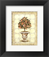 Framed Terrace Topiary I
