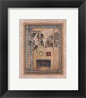 Framed Asian Elements I