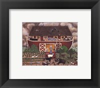 Framed Red Barn Ark