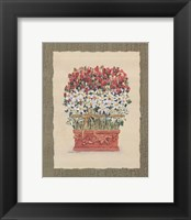 Framed Daisy Topiary