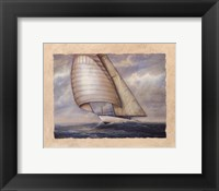 Wind and Sea Framed Print