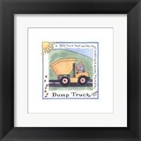 Framed Dump Truck
