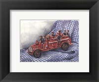 Framed Faithful Fire Engine