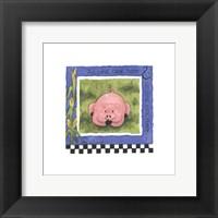 Framed Oink Oink
