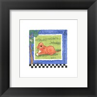 Bow Wow Framed Print