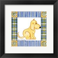 Pup Prints II Framed Print