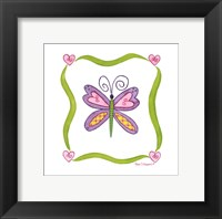 Framed Lovebugs-Butterfly