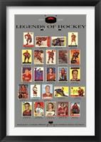 Framed Legends of Hockey