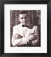 Framed Sean Connery