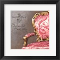 Chippendale XVII Framed Print