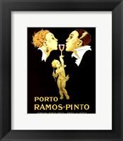 Framed Porto Ramos-Pinto