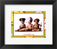 Little Grown-Ups Framed Print