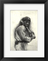 Framed Shoeless Joe Jackson